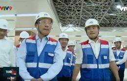 Phó Thủ tướng Phạm Bình Minh thăm tuyến Metro số 1