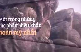 Lúng túng trong bảo vệ cột đá chạm rồng chùa Dạm