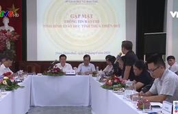 Họp báo triển khai đề án phát triển Giáo dục - Đào tạo Thừa Thiên - Huế