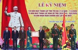 Yên Bái đón nhận Huân chương Độc lập hạng Nhất
