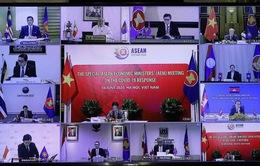 Hội nghị trực tuyến Bộ trưởng Kinh tế ASEAN: Thông qua Kế hoạch Hành động Hà Nội