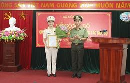 Nữ Thiếu tướng giữ chức Cục trưởng