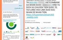 Bộ Công an cảnh báo thủ đoạn giả mạo Western Union, lừa đảo giới bán hàng online