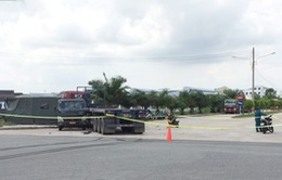 Va chạm với xe container, 7 chiến sĩ dân quân tự vệ thương vong