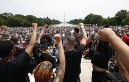 Biểu tình ngày cuối tuần ở Washington diễn ra khá ôn hòa