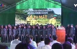 Quảng Nam ra mắt lực lượng bảo vệ rừng chuyên trách