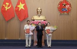 Bổ nhiệm 2 Phó Viện trưởng và 2 Kiểm sát viên VKSND tối cao