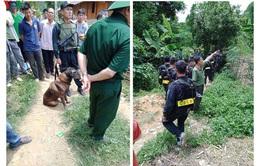 Truy bắt nghi phạm giết hàng xóm trốn trong rừng
