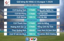 Lịch thi đấu và trực tiếp vòng 8 V.League 2020: CLB Viettel - CLB Hà Nội, Hoàng Anh Gia Lai - Hồng Lĩnh Hà Tĩnh