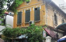 Hà Nội thí điểm mua lại biệt thự cổ để bảo tồn