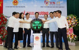 Khai trương Trung tâm giám sát điều hành đô thị thông minh tại Thái Nguyên