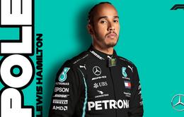 F1: Lewis Hamilton giành vị trí xuất phát đầu tiên ở GP Styria