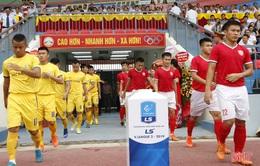 Sông Lam Nghệ An - Hồng Lĩnh Hà Tĩnh: Trận derby lịch sử (17h ngày 12/7)