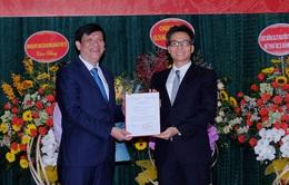 Trao Quyết định bổ nhiệm ông Nguyễn Thanh Long làm quyền Bộ trưởng Bộ Y tế