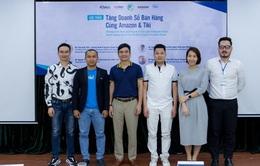 ICheck tham dự sự kiện Tăng doanh số bán hàng cùng Amazon và Tiki