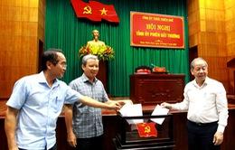 Giám đốc Công an tỉnh Thừa Thiên - Huế giữ chức Phó Bí thư Tỉnh ủy