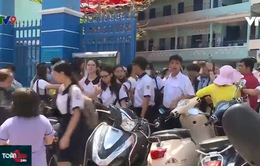 TP.HCM: Thí sinh bước vào ngày cuối tuyển sinh lớp 10