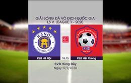 VIDEO Highlights: CLB Hà Nội 1-0 CLB Hải Phòng (Vòng 10 LS V.League 1-2020)