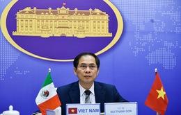 Mexico mong muốn Việt Nam chia sẻ kinh nghiệm phòng chống COVID-19