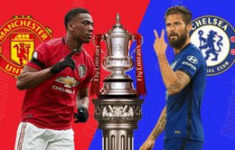 Man Utd - Chelsea: Món nợ khó đòi (00h00 ngày 20/7)
