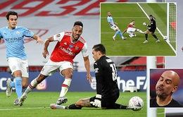 Thua Arsenal, Man City trở thành cựu vương ở Cup FA