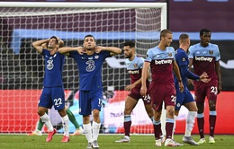 West Ham United 3-2 Chelsea: The Blues thua sốc