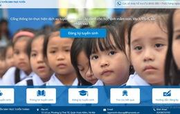 Hơn 30.000 hồ sơ đăng ký thử nghiệm tuyển sinh trực tuyến tại Hà Nội