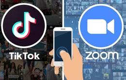 Zoom và TikTok liên tục lập kỷ lục trên các cửa hàng ứng dụng