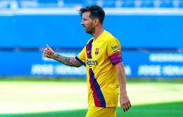 Messi lập cú đúp bàn thắng trong ngày La Liga hạ màn