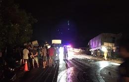 Kiểm tra hiện trường, khắc phục hậu quả vụ tai nạn thảm khốc làm 8 người chết ở Bình Thuận