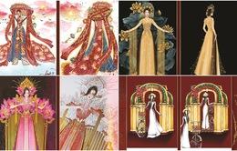 Lộ diện 8 thiết kế trang phục dân tộc cho Khánh Vân tại Miss Universe 2020