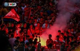 V.League 2020: Phạt BTC sân Hàng Đẫy 40 triệu đồng do để CĐV Hải Phòng đốt pháo sáng