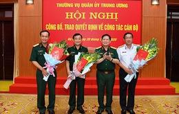 Trao quyết định của Thủ tướng bổ nhiệm 3 Thứ trưởng Bộ Quốc phòng mới