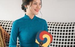 Tina Yuan diện thiết kế áo dài của NTK Thuy Dinh trong bộ ảnh mới nhất