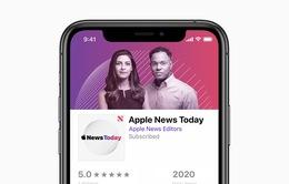 """Thị trường """"Radio thời Internet"""" ghi thêm tên đại gia Apple"""