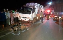 Bình Phước: Xe tải tông trực diện xe máy, 2 người tử vong tại chỗ