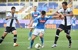CẬP NHẬT Kết quả, BXH, lịch thi đấu vòng 35 Serie A: Parma 2-1 Napoli, Inter 0-0 Fiorentina, SPAL 1-6 Roma