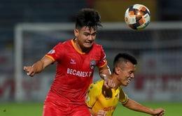 DNH Nam Định 1-1 Becamex Bình Dương: Bất phân thắng bại tại Thiên Trường