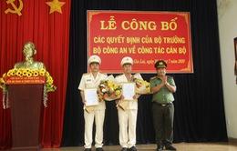 Bộ Công an bổ nhiệm mới 2 Phó Giám đốc Công an tỉnh Gia Lai
