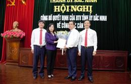 Thành phố Bắc Ninh có tân Bí thư Thành ủy sinh năm 1984