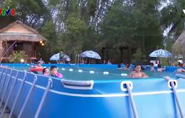 Quảng Ngãi: Xã hội hóa dạy bơi cho trẻ em nông thôn