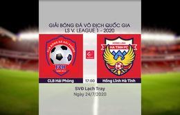 VIDEO Highlights: CLB Hải Phòng 1-1 Hồng Lĩnh Hà Tĩnh (Vòng 11 LS V.League 1-2020)