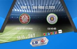 Lịch thi đấu và trực tiếp V.League 2020 hôm nay (24/7): CLB TP Hồ Chí Minh – CLB Hà Nội (19h15 trên VTV6)