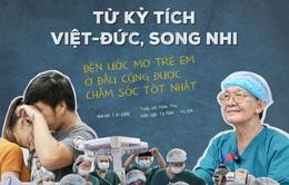 Từ kỳ tích Việt - Đức, Song Nhi đến ước mơ trẻ em ở đâu cũng được chăm sóc tốt nhất