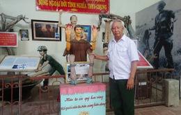 Cựu chiến binh hơn 20 năm tập hợp kỷ vật chiến tranh của đồng đội