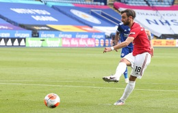 Leicester City 0-2 Man Utd: Fernandes tỏa sáng, Quỷ đỏ giành suất dự Champions League