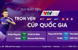 Tứ kết Cúp Quốc gia 2020 trực tiếp duy nhất trên VTVcab