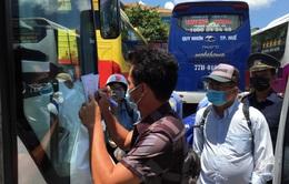 Tạm ngưng các tuyến vận tải hành khách Thừa Thiên - Huế đi Đà Nẵng và ngược lại