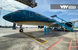 Chuyến bay đưa 219 công dân Việt Nam từ Guinea Xích Đạo về nước an toàn
