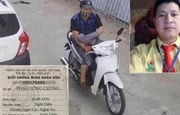 """Nghi can """"máu lạnh"""" sát hại dã man 1 phụ nữ tại Nghệ An đã treo cổ tự tử"""